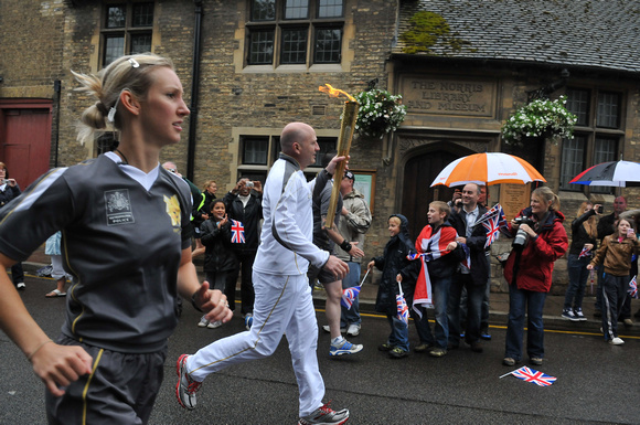 Torch Relay St ives Cambs